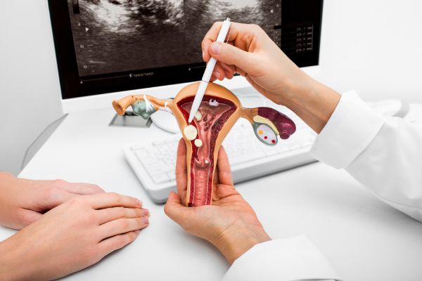 Cervix, disease or injury of
