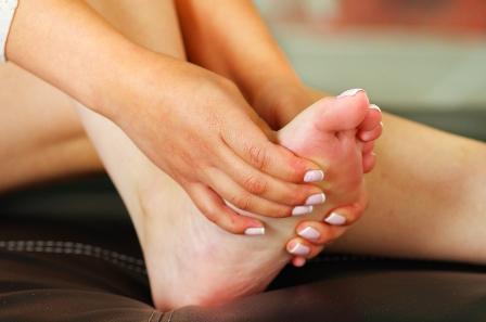 Weak Foot, bilateral: